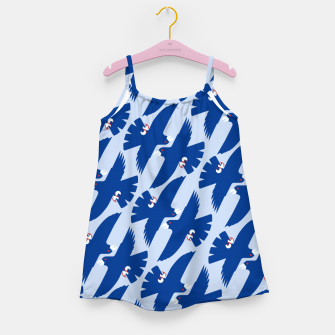 Gyrfalcon - Iceland flag symbol Girl's dress miniature