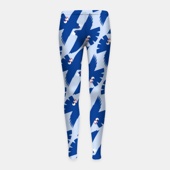 Gyrfalcon - Iceland flag symbol Girl's leggings miniature