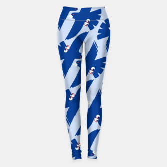 Gyrfalcon - Iceland flag symbol Leggings miniature