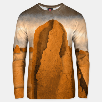 Miniatur One sand Unisex sweater, Live Heroes