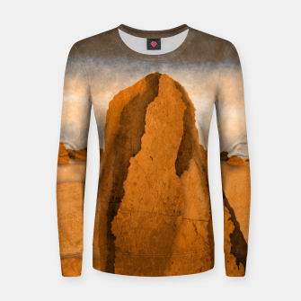 Miniatur One sand Women sweater, Live Heroes