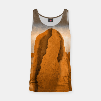 Miniatur One sand Tank Top, Live Heroes
