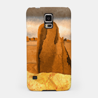 Miniatur One sand Samsung Case, Live Heroes