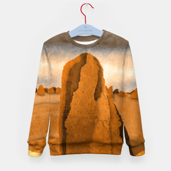 Miniatur One sand Kid's sweater, Live Heroes