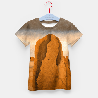 Miniatur One sand Kid's t-shirt, Live Heroes
