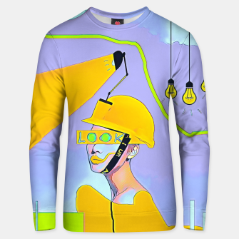Thumbnail image of Look Unisex sweater, Live Heroes