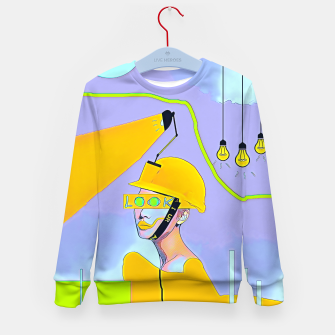Thumbnail image of Look Kid's sweater, Live Heroes