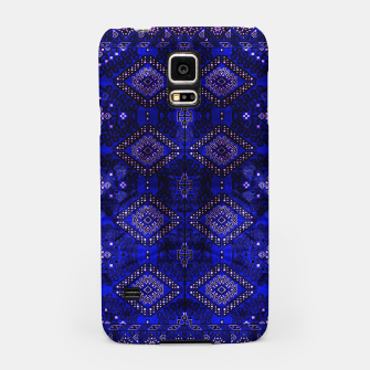 Thumbnail image of Indigo Calm Blue Heritage Traditional Moroccan Style  Samsung Case, Live Heroes