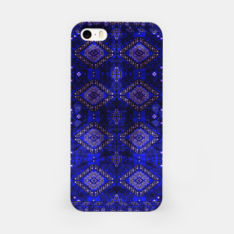 Thumbnail image of Indigo Calm Blue Heritage Traditional Moroccan Style  iPhone Case, Live Heroes