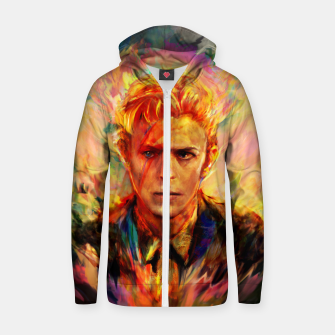 Thumbnail image of David Bowie Zip up hoodie, Live Heroes