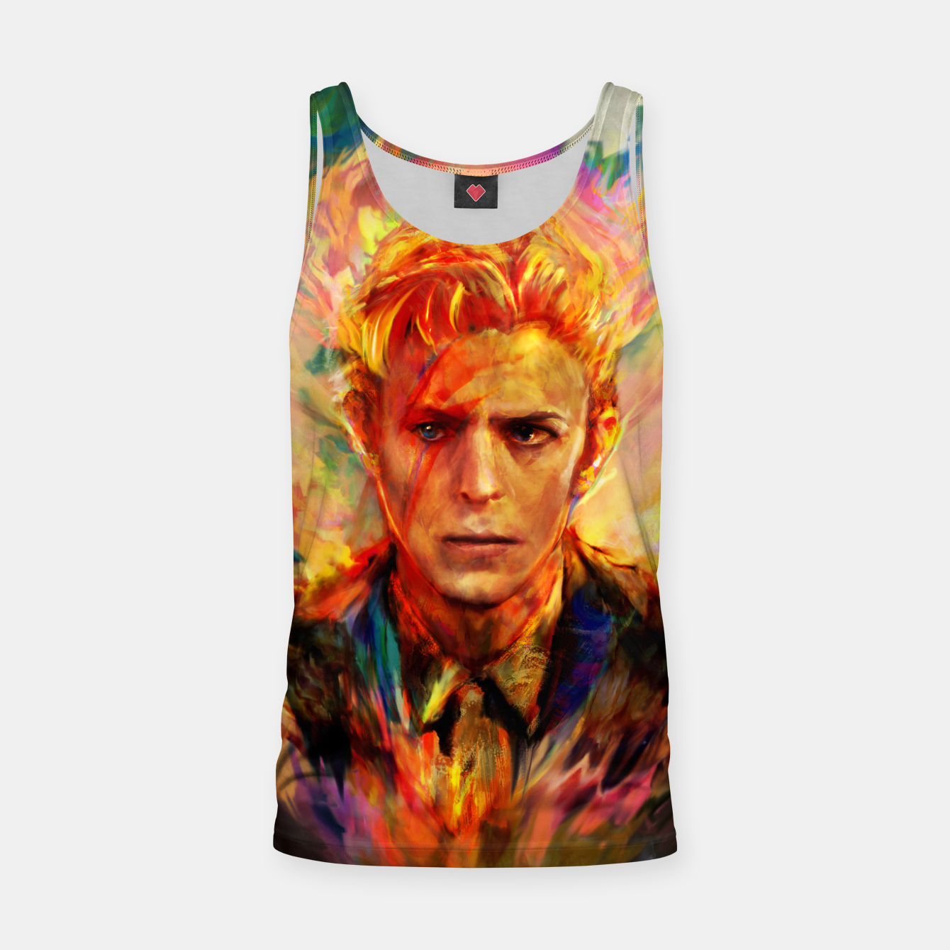 Image of David Bowie Tank Top - Live Heroes