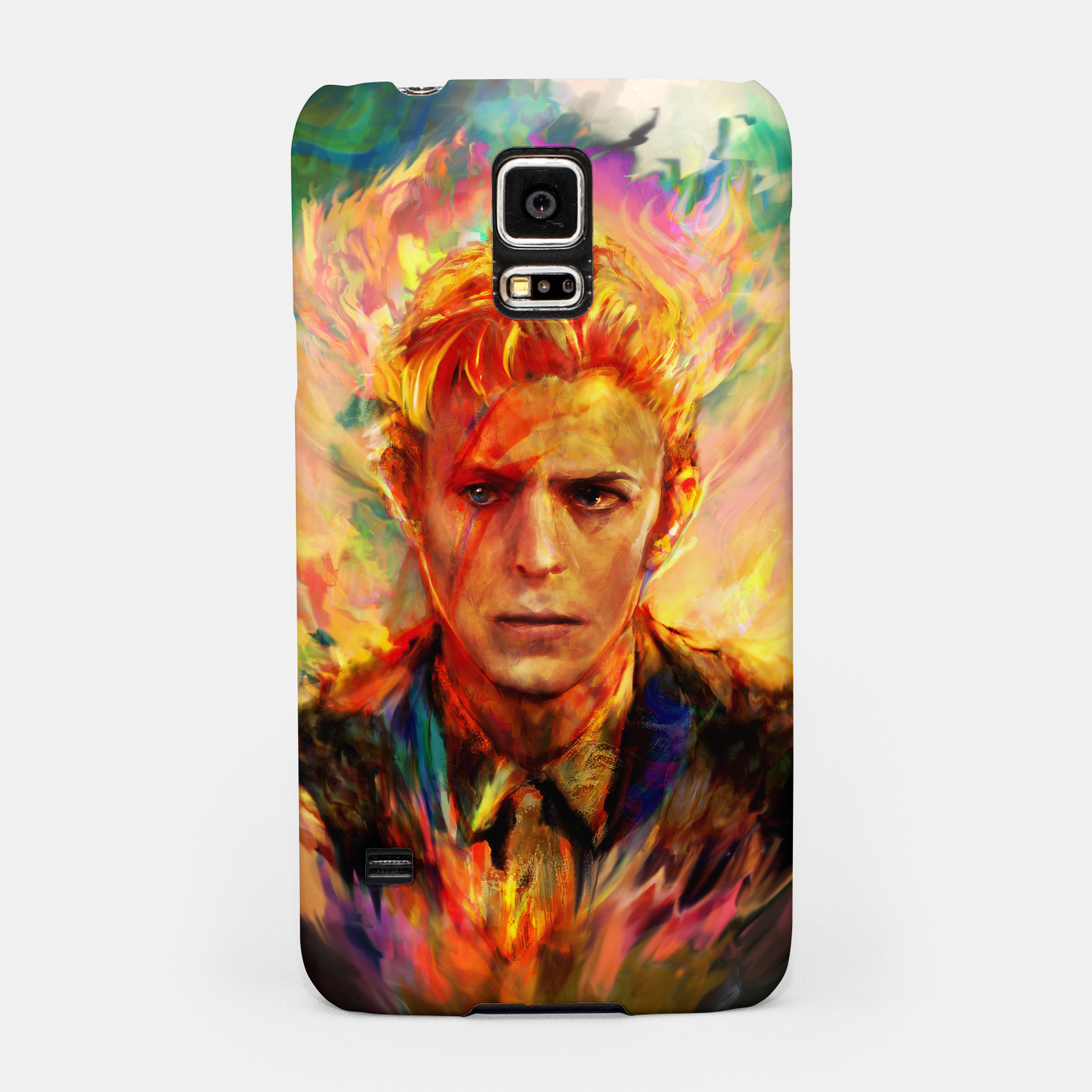 Image of David Bowie Samsung Case - Live Heroes