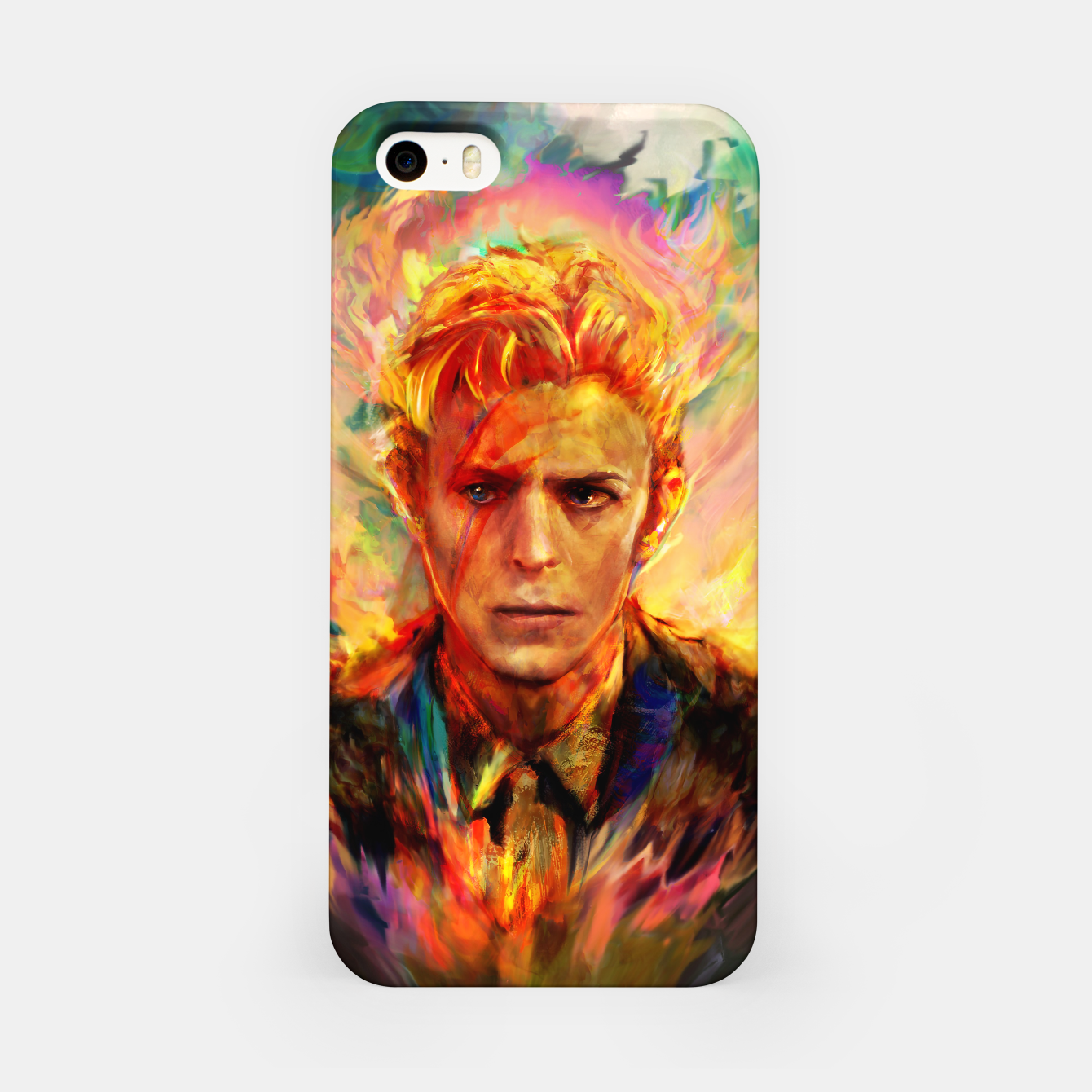 Image of David Bowie iPhone Case - Live Heroes