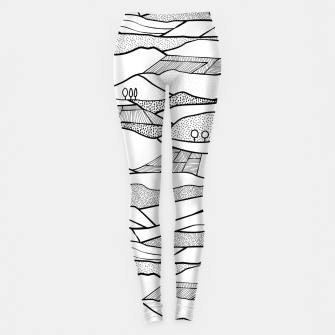 Thumbnail image of Monegros- Geology Landscape Leggings, Live Heroes