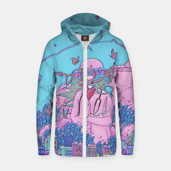 Thumbnail image of Medical Zip up hoodie, Live Heroes