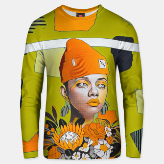 Thumbnail image of Lines and forms Unisex sweater, Live Heroes