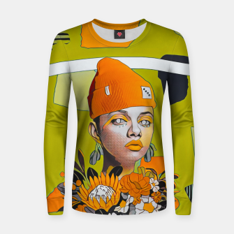 Thumbnail image of Lines and forms Women sweater, Live Heroes