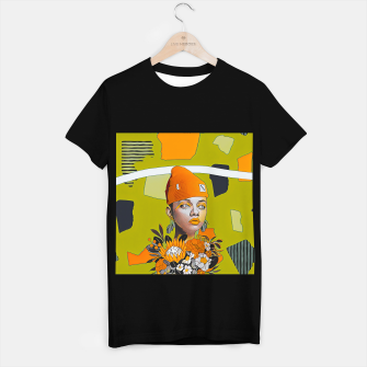 Miniatur Lines and forms T-shirt regular, Live Heroes