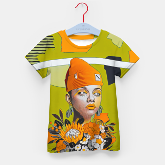 Thumbnail image of Lines and forms Kid's t-shirt, Live Heroes