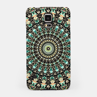Thumbnail image of Gold Wire Mandala in Turquoise Samsung Case, Live Heroes