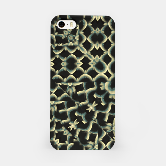 Dark Interlace Motif Mosaic Pattern iPhone Case Bild der Miniatur