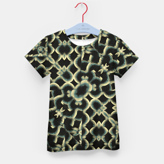 Thumbnail image of Dark Interlace Motif Mosaic Pattern Kid's t-shirt, Live Heroes