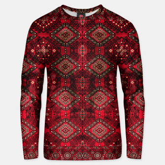 Miniaturka Royal Red Heritage Traditional Moroccan Style Unisex sweater, Live Heroes