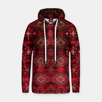 Miniature de image de Royal Red Heritage Traditional Moroccan Style Hoodie, Live Heroes