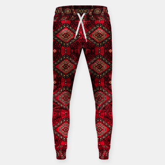 Thumbnail image of Royal Red Heritage Traditional Moroccan Style Sweatpants, Live Heroes