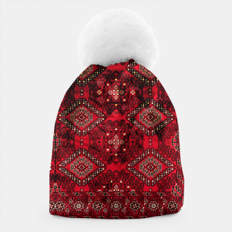 Miniaturka Royal Red Heritage Traditional Moroccan Style Beanie, Live Heroes