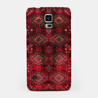 Miniaturka Royal Red Heritage Traditional Moroccan Style Samsung Case, Live Heroes
