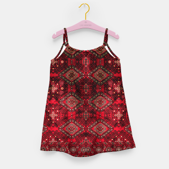 Imagen en miniatura de Royal Red Heritage Traditional Moroccan Style Girl's dress, Live Heroes