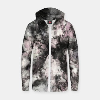 Thumbnail image of A precarious situation Zip up hoodie, Live Heroes