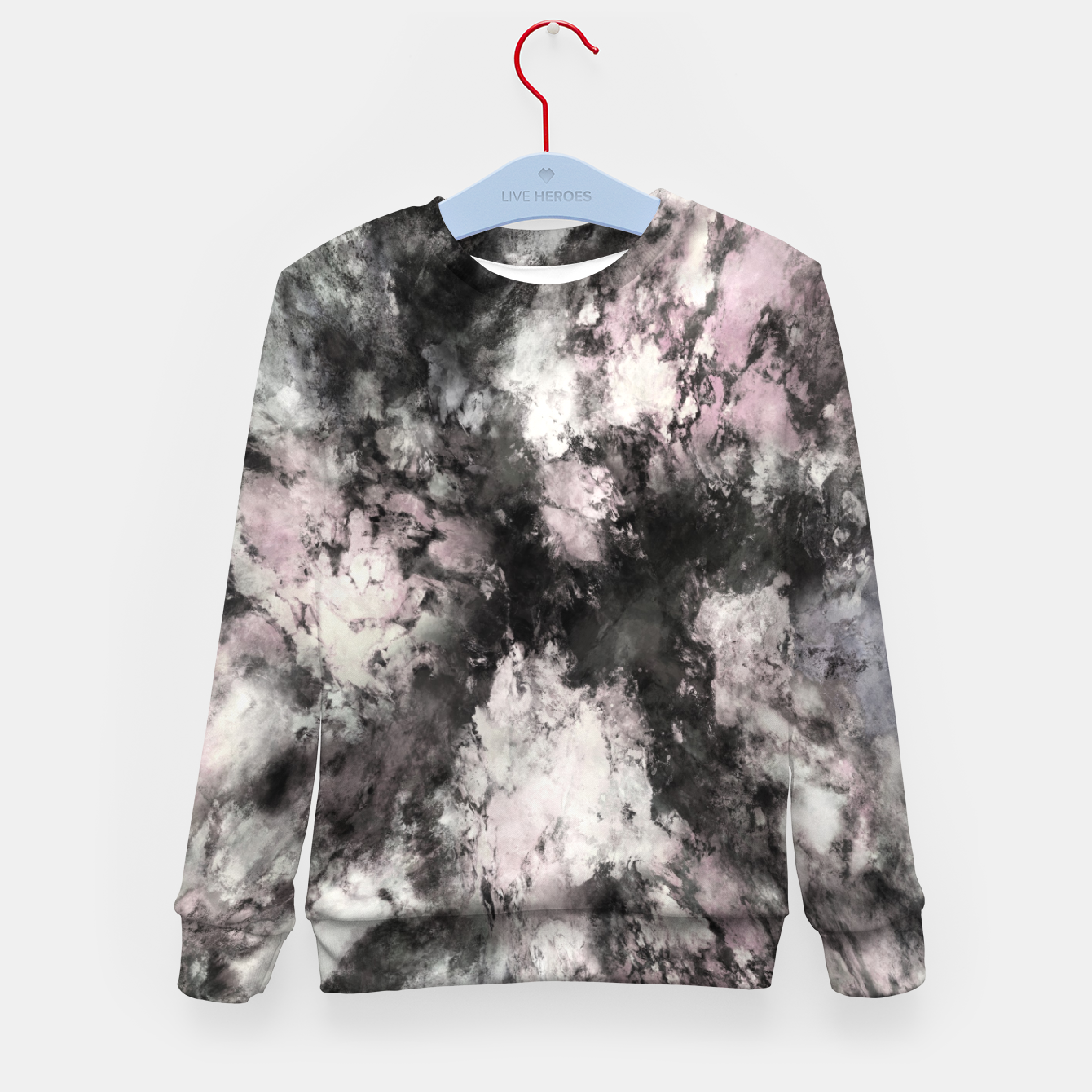 Image of A precarious situation Kid's sweater - Live Heroes