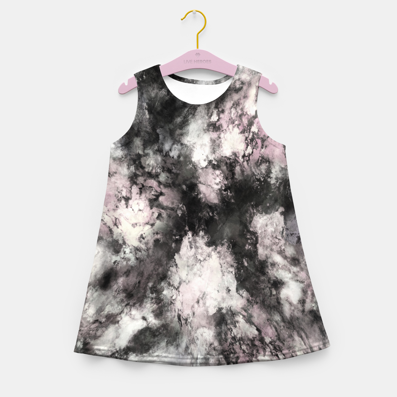 Image of A precarious situation Girl's summer dress - Live Heroes