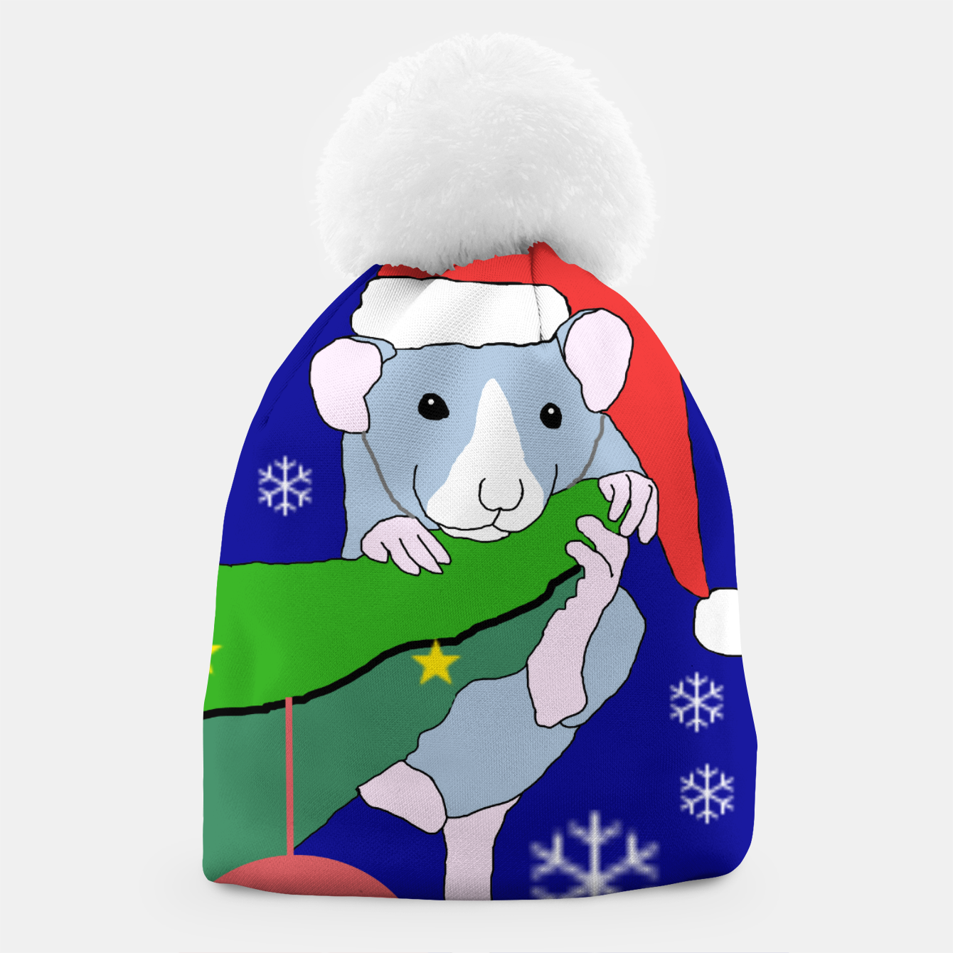 Image of The Christmas Tree Rat beanie - Live Heroes