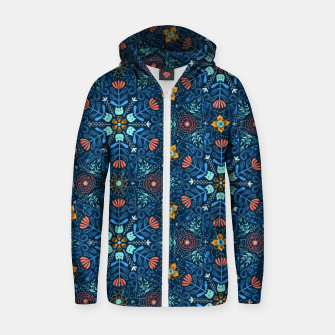 Thumbnail image of Kaleidoscope Cats Zip up hoodie, Live Heroes