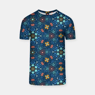 Thumbnail image of Kaleidoscope Cats T-shirt, Live Heroes