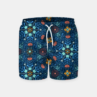 Thumbnail image of Kaleidoscope Cats Swim Shorts, Live Heroes
