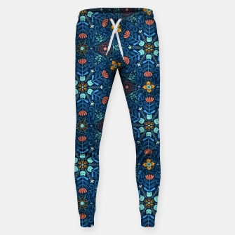 Thumbnail image of Kaleidoscope Cats Sweatpants, Live Heroes