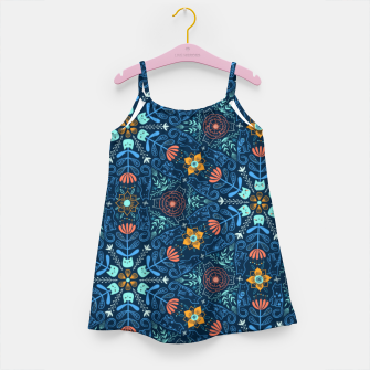 Miniaturka Kaleidoscope Cats Girl's dress, Live Heroes