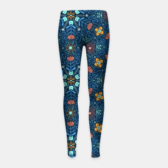 Miniaturka Kaleidoscope Cats Girl's leggings, Live Heroes