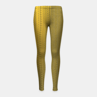Miniatur GOLDEN Girl's leggings, Live Heroes