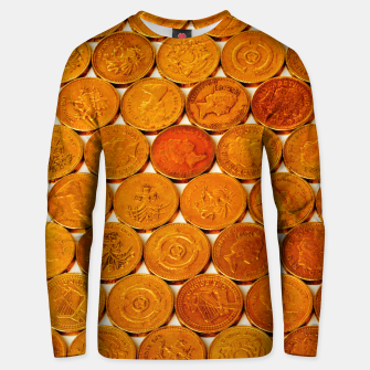 Miniatur GOLD COINS 3 Unisex sweater, Live Heroes