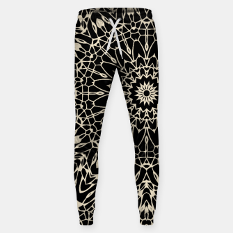 Thumbnail image of Gold Wire Mandala in Black Sweatpants, Live Heroes