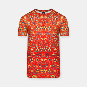 Miniatur Orange Traditional Moroccan Floral Style  T-shirt, Live Heroes