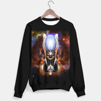 Thumbnail image of The Arzookian Princess Of Nebulous Four Fractal Art Sweater regular, Live Heroes