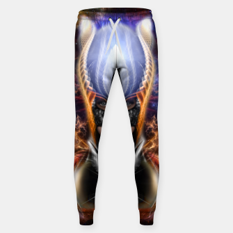 Miniatur The Arzookian Princess Of Nebulous Four Fractal Art Sweatpants, Live Heroes