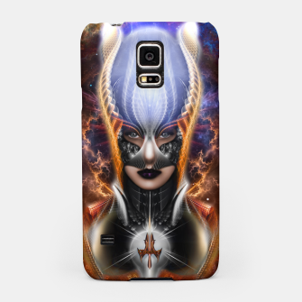 Thumbnail image of The Arzookian Princess Of Nebulous Four Fractal Art Samsung Case, Live Heroes