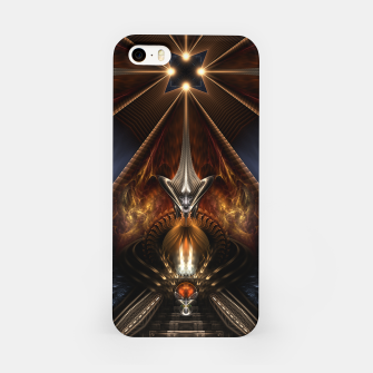 Miniatur Arteknyia Fantasy Fractal Art Composition iPhone Case, Live Heroes